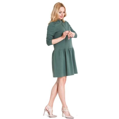 Zoya ruha - khaki színben