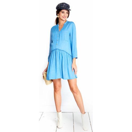 City kék ruha