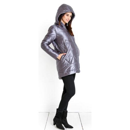 Cortina metálszürke kabát