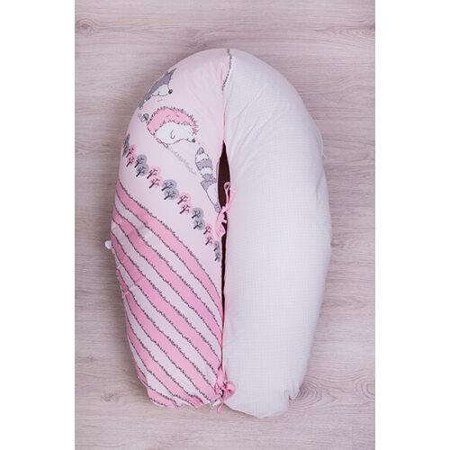 Baba-mama párna Albert mosómaci rózsaszín
