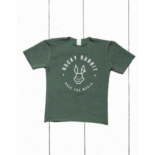 Rocky Rabbit zöld póló