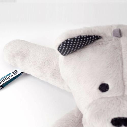 Whisbear zümmögő mackó, az elalvás szakértője
