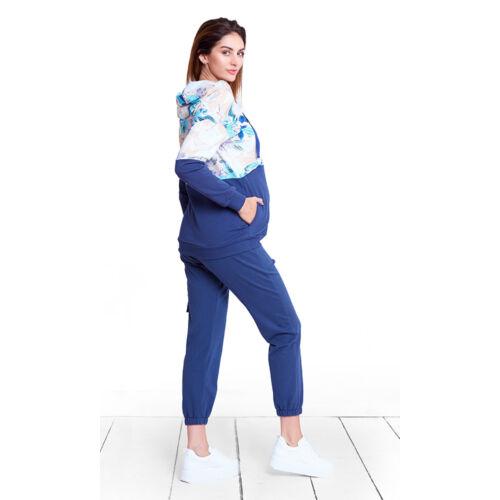 Aqua garden pulóver