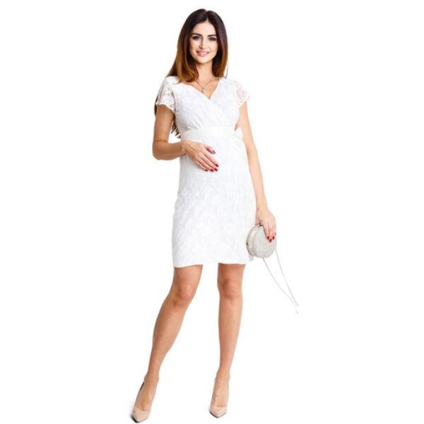 Lovely cream csipkés ruha