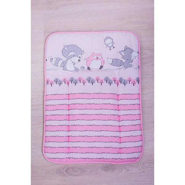 Pelenkázó lap Albert mosómaci rózsaszín(50*70)