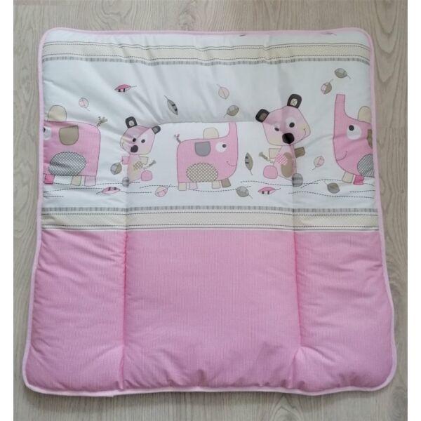 Pelenkázó lap Simi Eli rózsaszín(50*70)