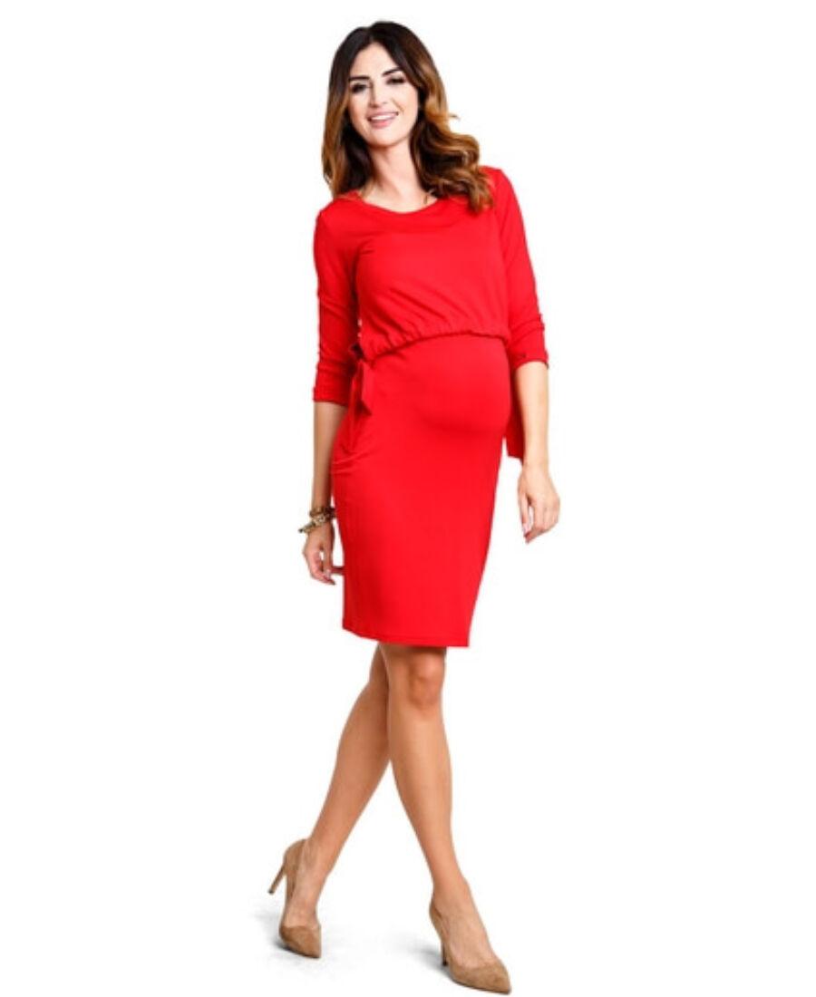 21334114e3 Lady ruha - piros színben - Mix & Match