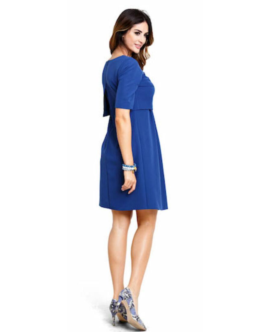 32dac9e6a0 Bonita kék ruha - Kismama hétköznapi viselet