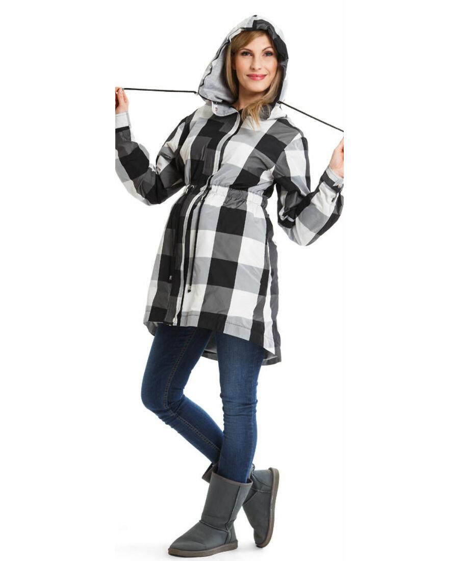 b48b722970 Parka kockás kabát - Kabátok